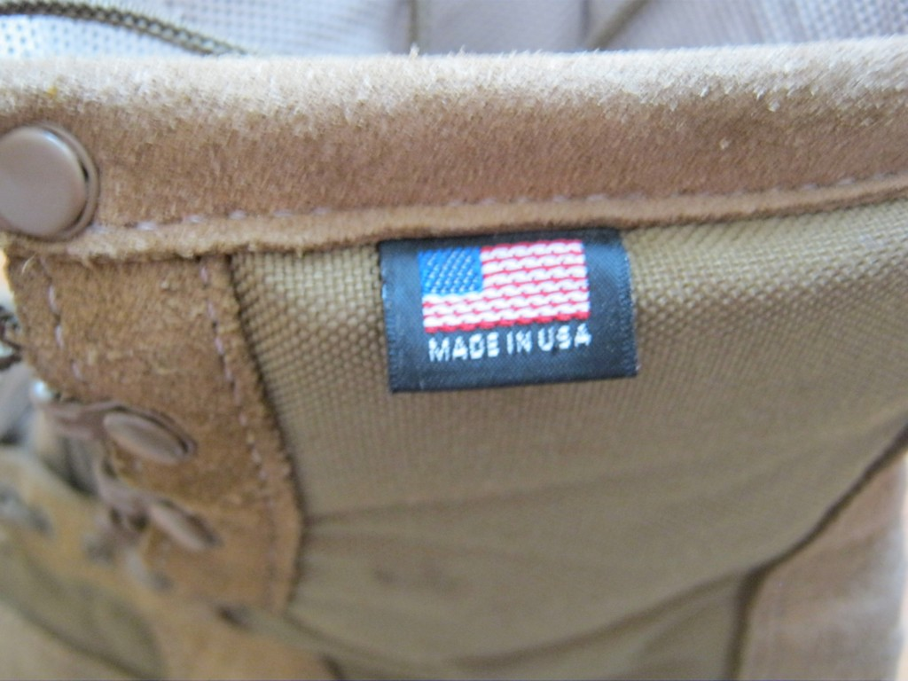 Сделано в США, Портленд. Dannner выпускает разную обувь, в том числе для армии США.